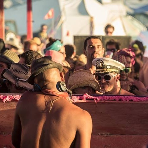 "#TBT to #BurningMan 2013 )'( It's a guaranteed good time when @marqueswyatt & @pinkmammothsf join forces! THIS SUNDAY SEPT 10 ---  Come #decompress with us on @therooftop of @thestandard in DTLA from 1-8PM for DEEP Mammoth ""Dust in the Sky""! This is our last DEEP in the Sky event of the Summer, 21+. Tickets are going fast, so get yours now before they are sold out (link in bio)! 💗 #DEEP #LosAngeles #PinkMammoth #DEEPMammoth #Party #TheRooftop #TheStandard #DTLA #Tribal #HouseMusic #DJ #MarquesWyatt #Davi #ZachWalker #DerekHena #TobinEllsworth #WeAreDEEP #DEEP4Life #AllThingsDEEP #WhereHouseLives #Since98 (📷: @__wobs__)"