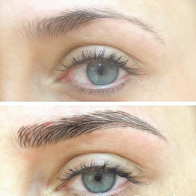 Eyebrow Feathering The Brow Lash Co