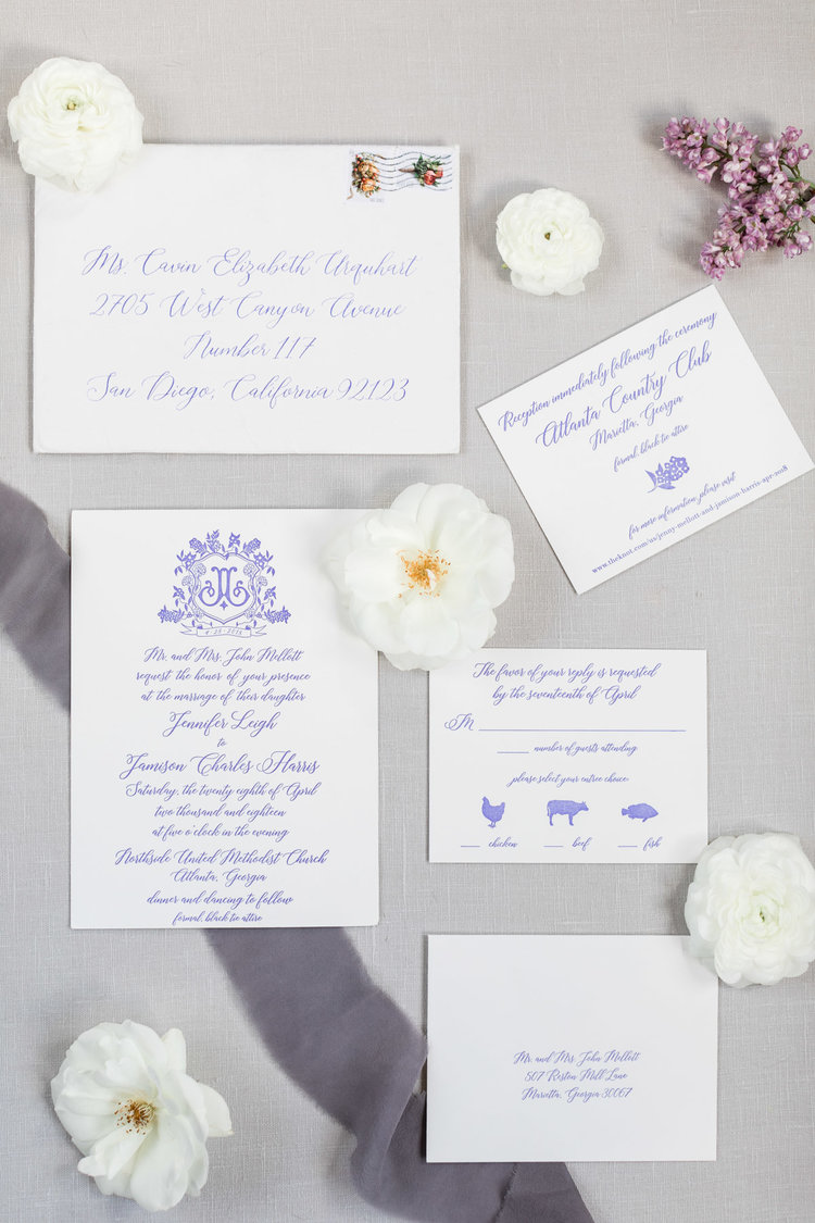 invitation suite by Mellobets; image by Cavin Elizabeth Photography