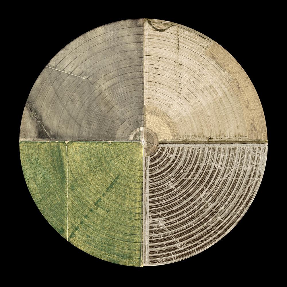 Pivotal Irrigation Farm. 20x20 Archival Pigment Print