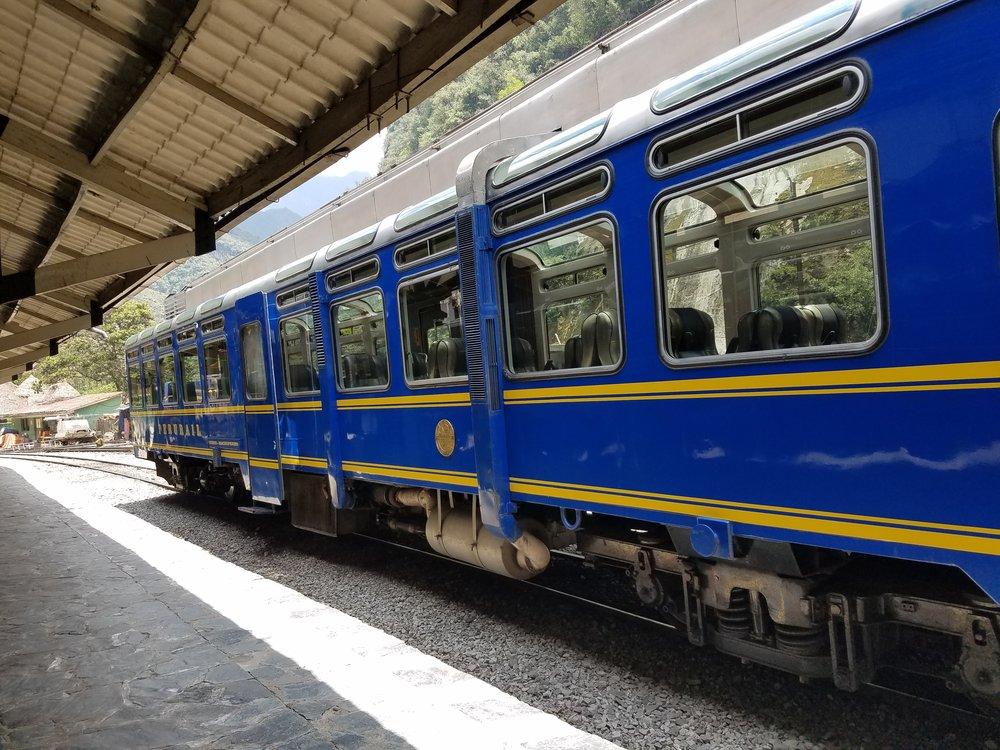 Peru Rail Vistadome