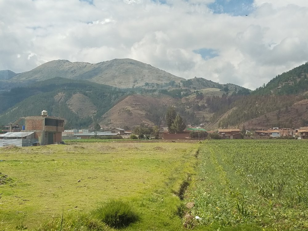 The Andes Mountains everywhere you look!