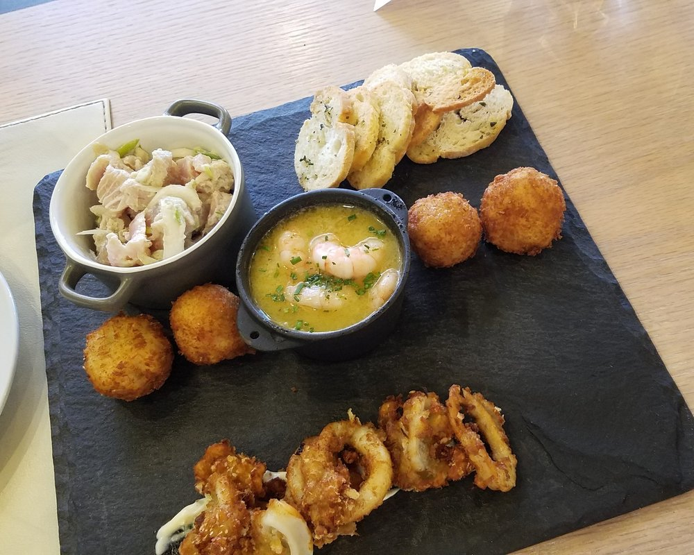 Seafood Platter we shared.