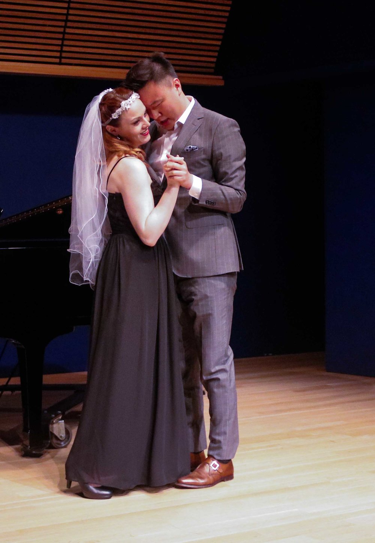 Lauren Maxwell and Liang Zhao, 2017 Respiro Performance