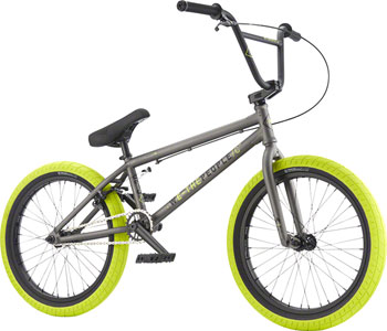 "We The People Curse 20"" 2017 Complete BMX Bike 20.25"" Top Tube Glossy Phosphate Raw"