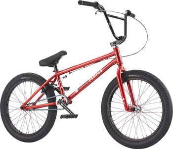 "We The People Curse 20"" 2017 Complete BMX Bike 20.25"" Top Tube Glossy Metallic Red"