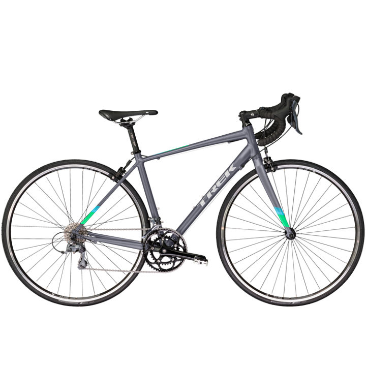 TREK Lexa2 Matte Metallic Charcoal, Women's specific frame.