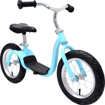 KaZAM v2s Balance Bike: Metallic Light Blue