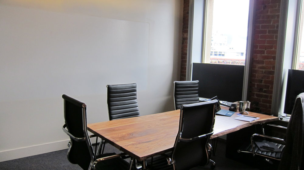 Meeting Room with Mountain View