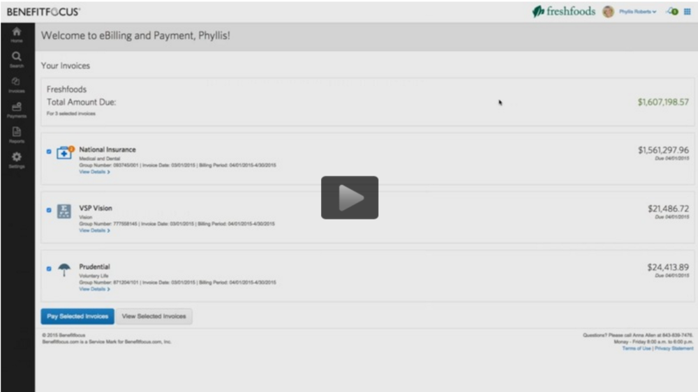 A demo of our payment solution