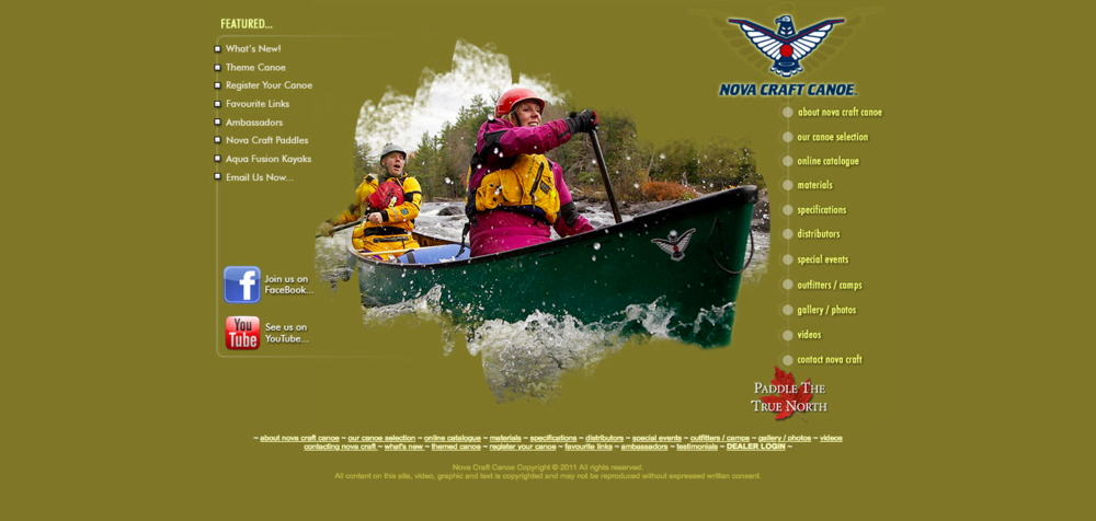 Welcome to Nova Craft Canoe     Enjoy your visit .png