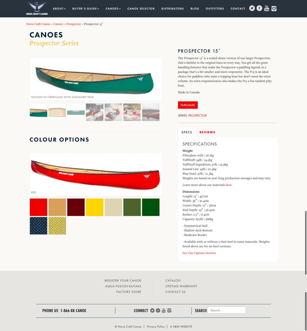 Prospector 15    Nova Craft Canoe.png