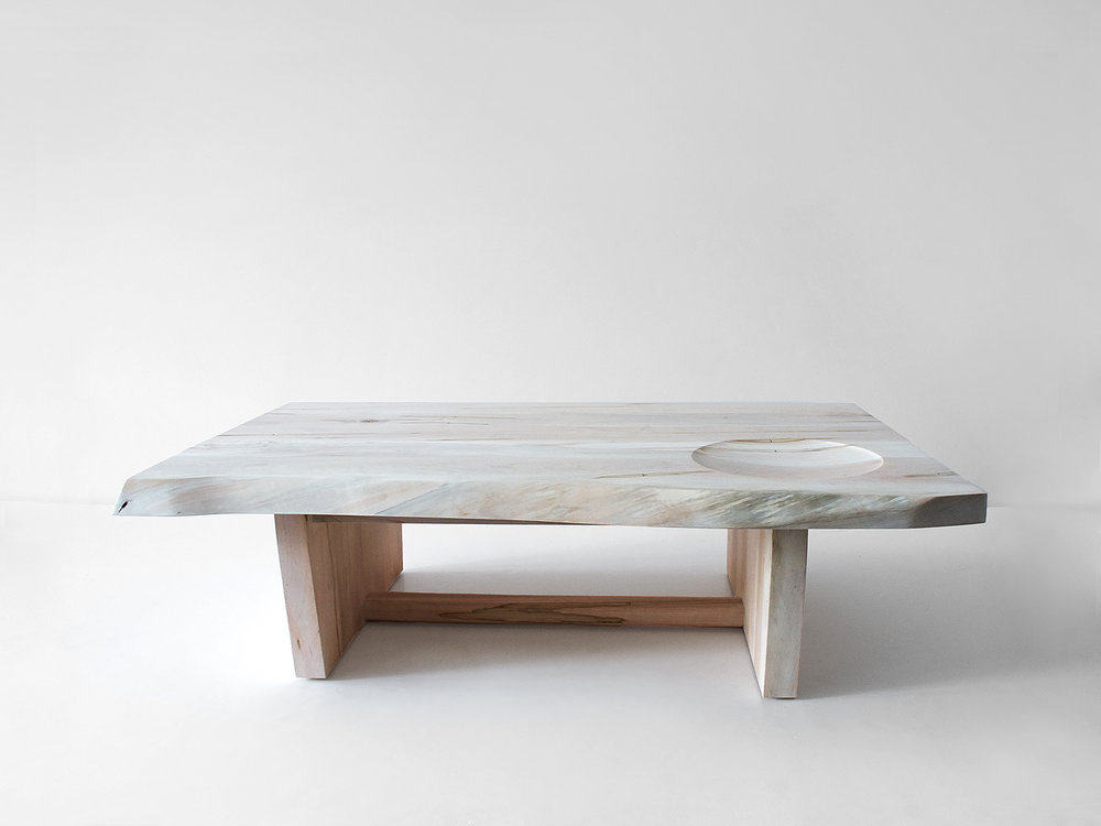 Maple Slab Low Table