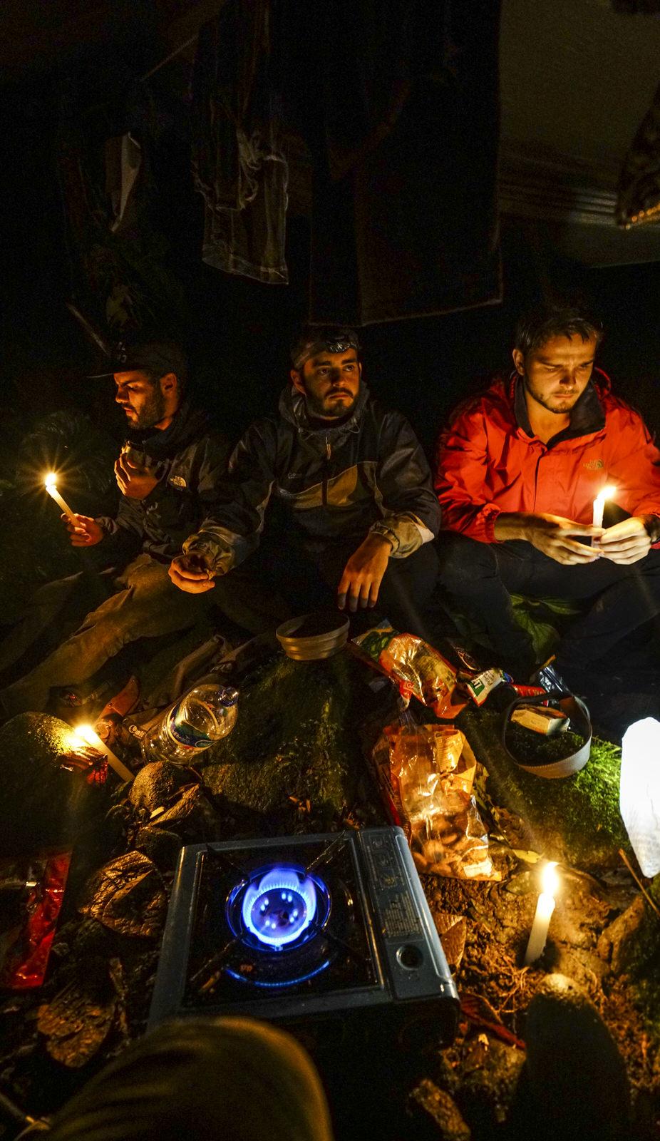 Jose Ruiz, André Mora, Felipe Alfaro, Camp1