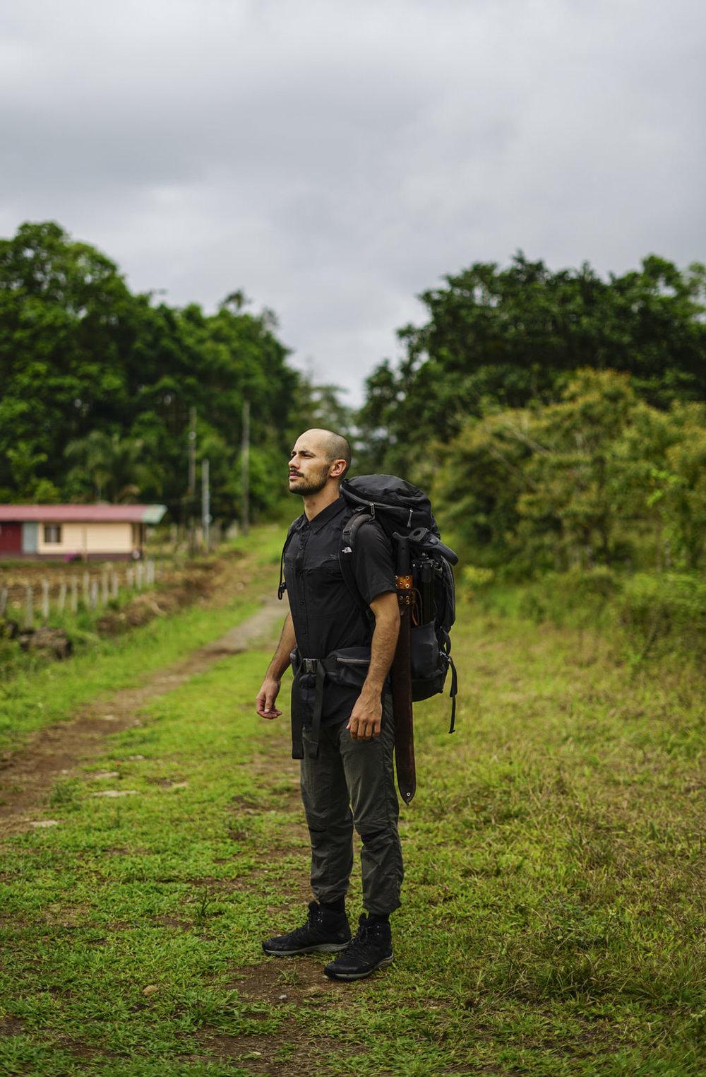 Retrato mío post expedición por Jose Ruiz