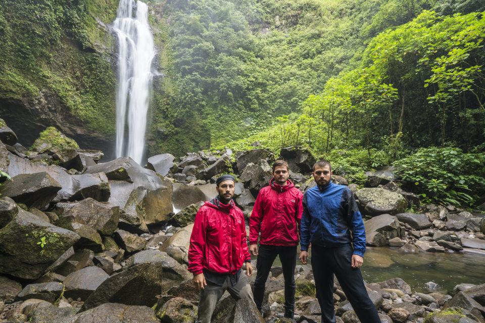 De izquierda a derecha: Javier Elizondo, Felipe Alfaro, Manuel Monge.