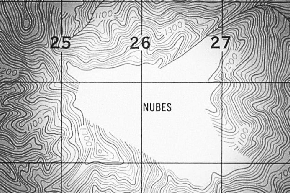 Hojas Cartográficas 1961.Fuente: IGN