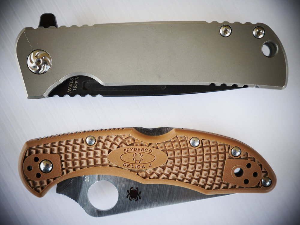 Kizer Escort Size Comparision 2