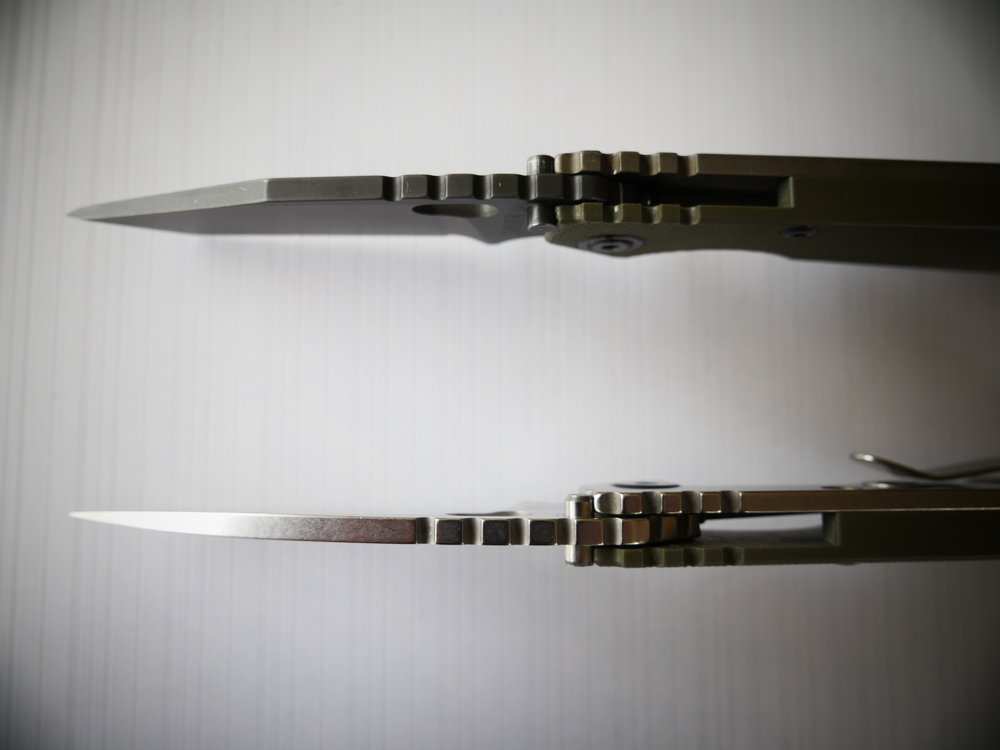Strider SnG Tanto & Spearpoint 15