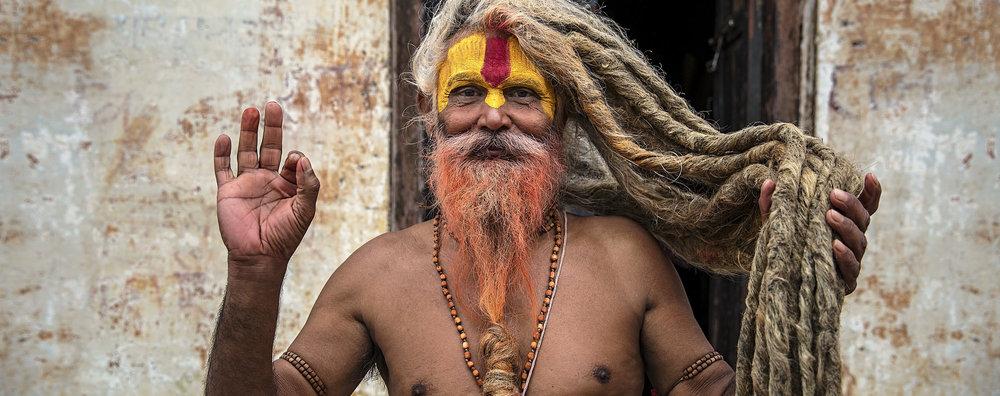 SADHU HINDU MONKS OF NEPAL -