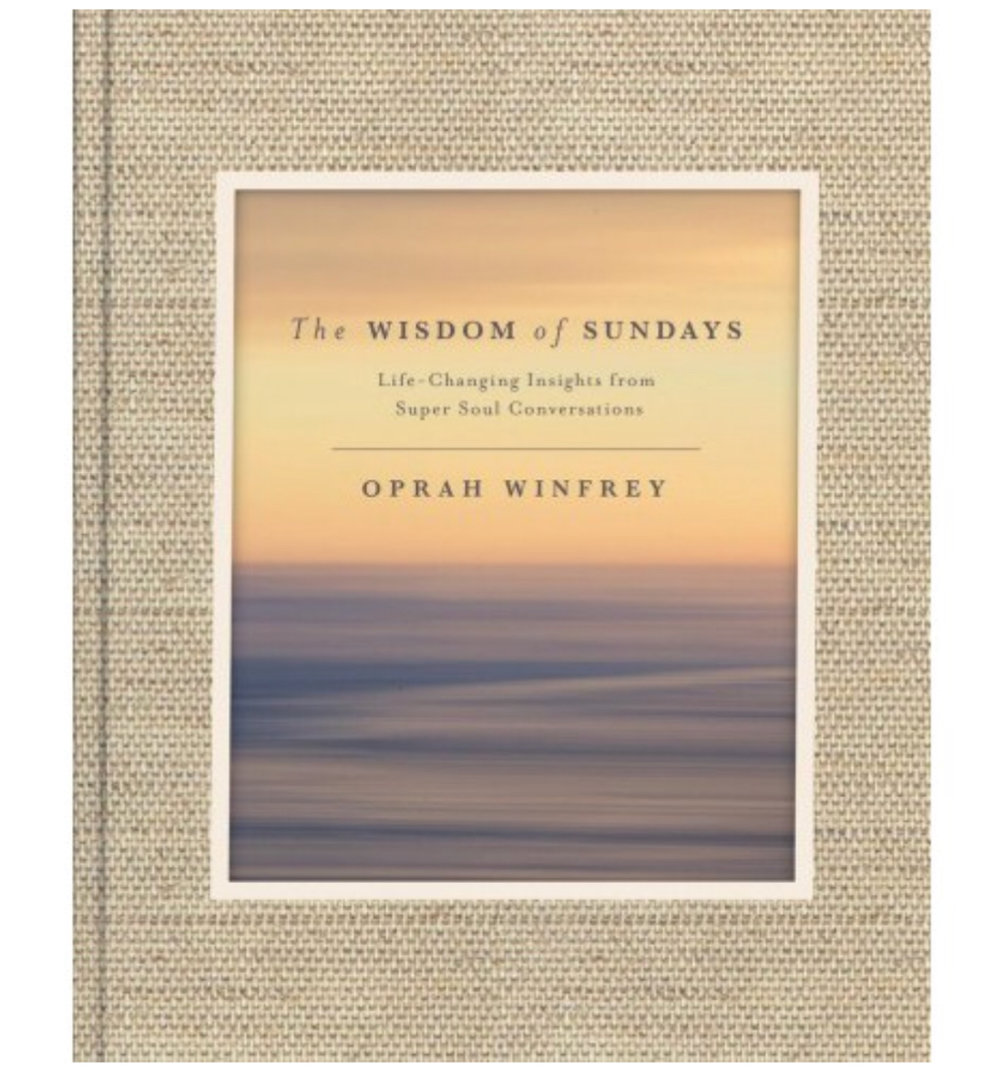 """THE BEST BOOK I READ THIS YEAR. Gift it hardcover or audible. Life changing.  Oprah Winfrey says Super Soul Sunday is the television show she was born to do . """"I see it as an offering,"""" she explains. """"If you want to be more fully present and live your life with a wide-open heart, this is the place to come to.""""Now, for the first time, the aha moments of inspiration and soul-expanding insight that have enlightened millions on the two-time Emmy Award-winning  Super Soul Sunday  are collected in  The Wisdom of Sundays,  a beautiful, cherishable, deeply-affecting book."""