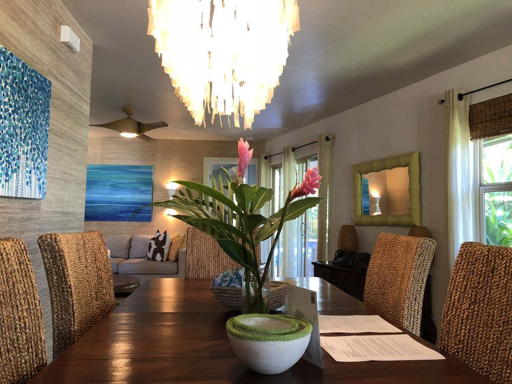 Maui Beach Vacation Property Staging by Boho Design 2019