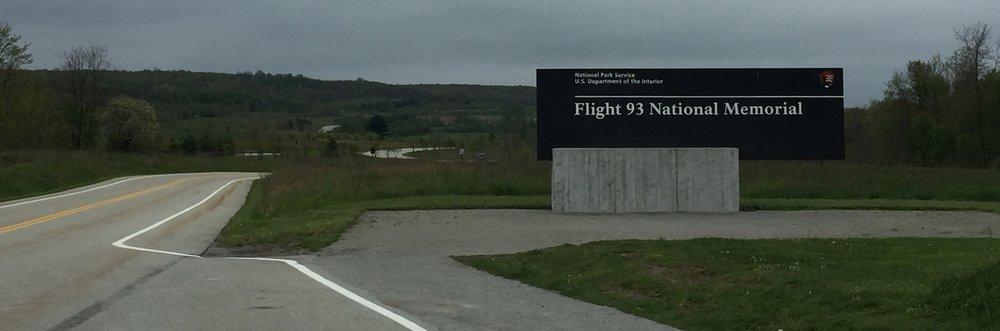 Entrance Sign -- Flight 93 National Memorial