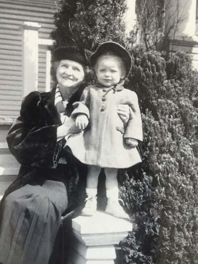 Lena DeKoning and Granddaughter Carolyn