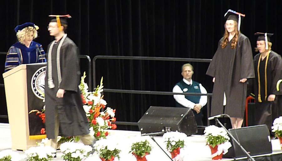 Whitworth College Graduation