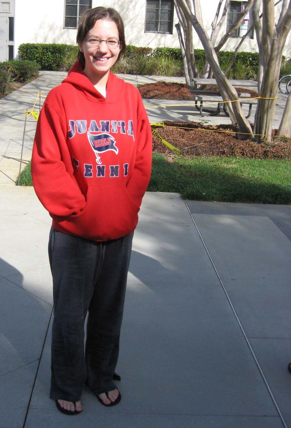 Juanita High School grad at Pomona College