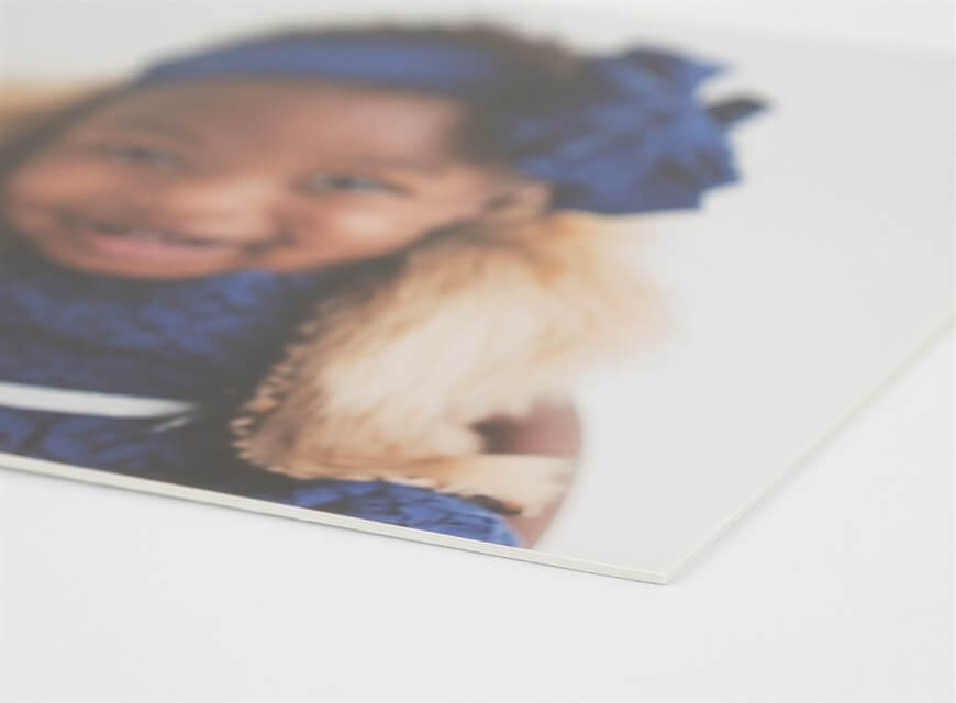Photographic Prints on Matboard - Matboard is a popular mounting substrate that provides a durable backer for your larger-sized prints. Mounting your print on matboard not only gives the print extra support, but it also helps preserve the value of the print over time. They are 1/16