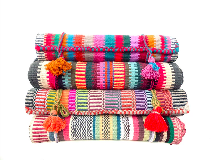 LUMEYO WEAVING  - Immerse yourself in the culture of the Bedouin Tradition by weaving bright and colorful rugs. We are partnering with an incredible company, Bedoubag, who aims to empower local women and inspire the next generation to learn a craft.