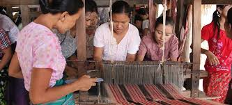 WEAVING  - Immerse yourself in the Burmese cult and tradition by weaving bright and colorful fibers.. We are partnering with an incredible company, MBoutik, who aims to empower local women and inspire the next generation to learn a craft.