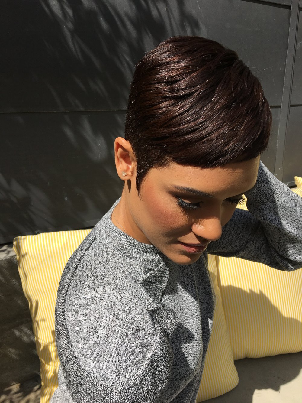 Color by Amber Curry on actress Grace Byers for the TV show Empire
