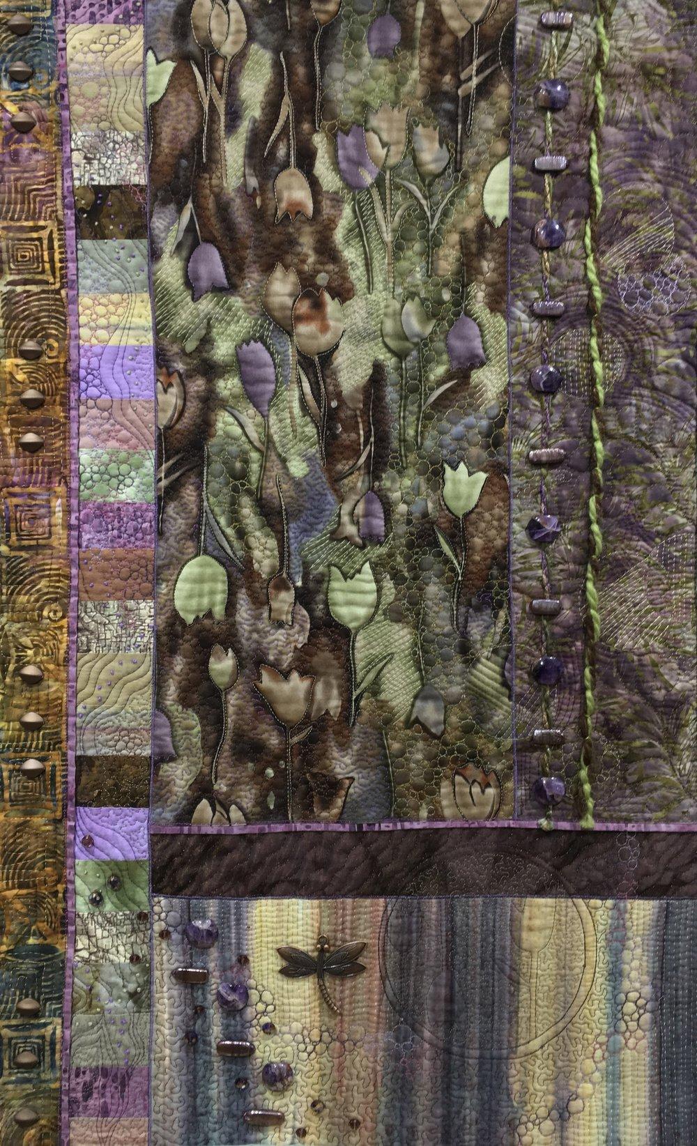 In Purple Fields of Tulips   - Heidi Zielinski