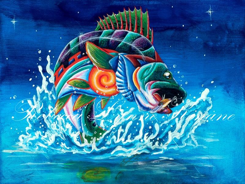 Fishin' In The Dark   - Rebecca Lynne Kinane