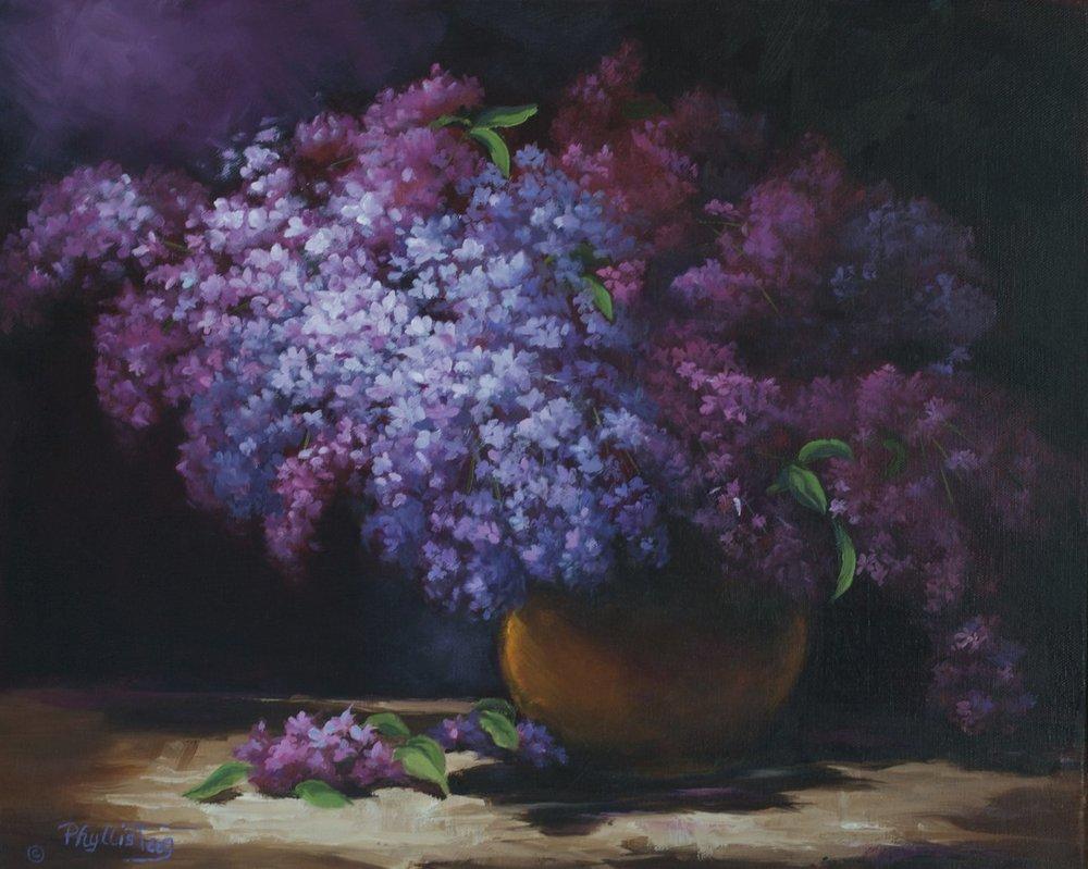 Purple Fusion   - Phyllis Tag
