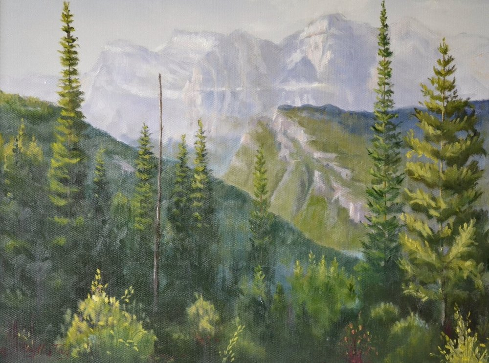 Glorious Glacier   - Phyllis Tag