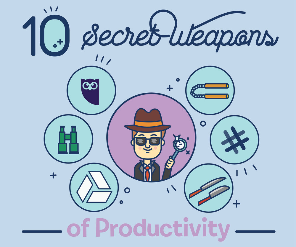 10 Secrete Weapons for Staying Productive