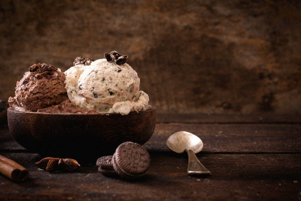 No Churn Chocolate and Cookies and Cream Ice Cream