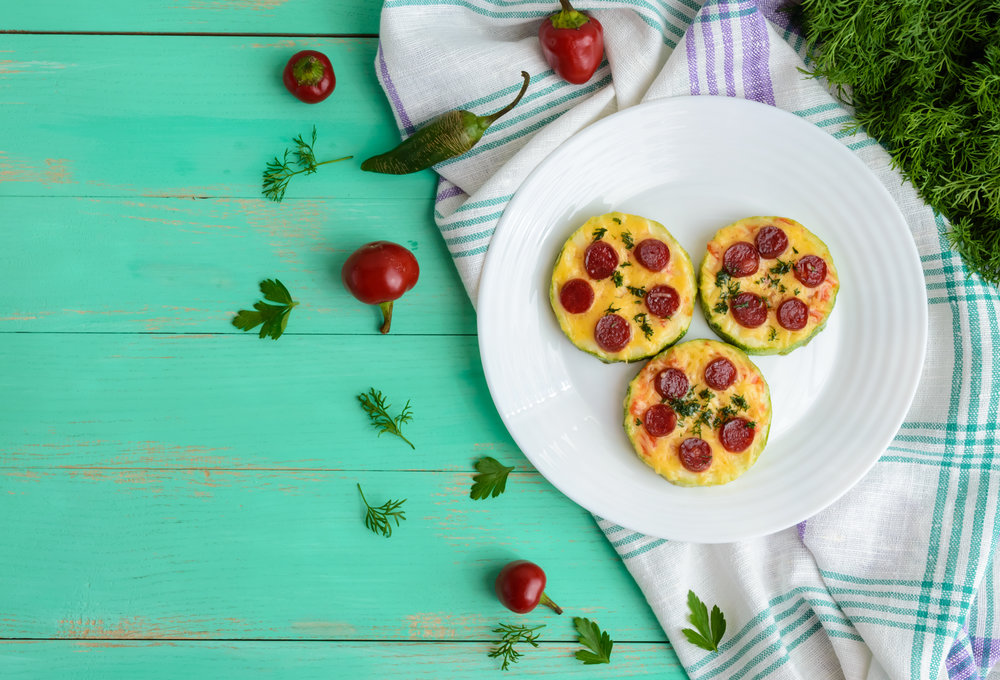 Zucchini Mini Pizza
