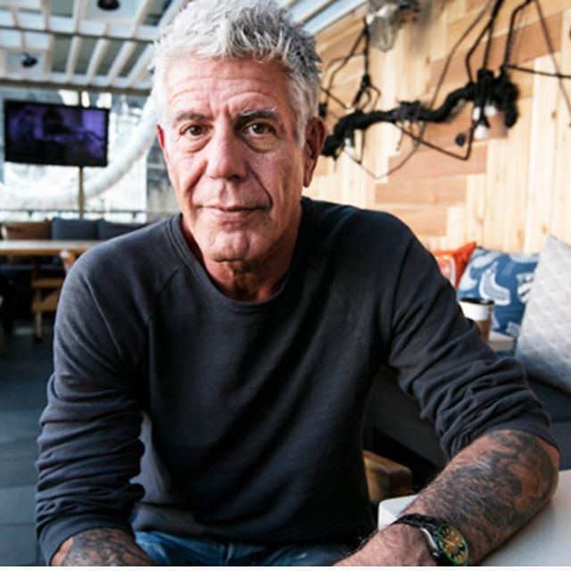 He was a culinary rockstar. He will be missed. RIP #anthonybourdain