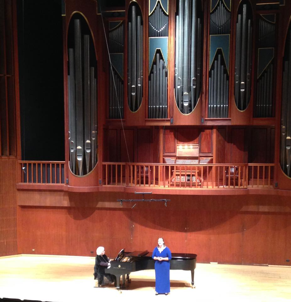 Emerging Artist Recital, Southern Methodist University, 2016