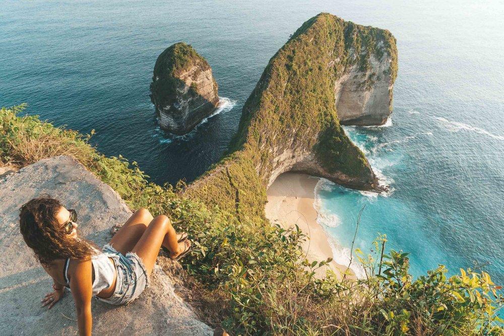 Kelingking Lookout, Nusa Penida
