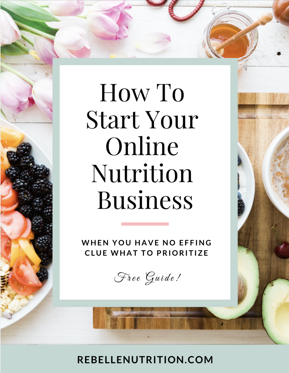 How to start your online nutrition business