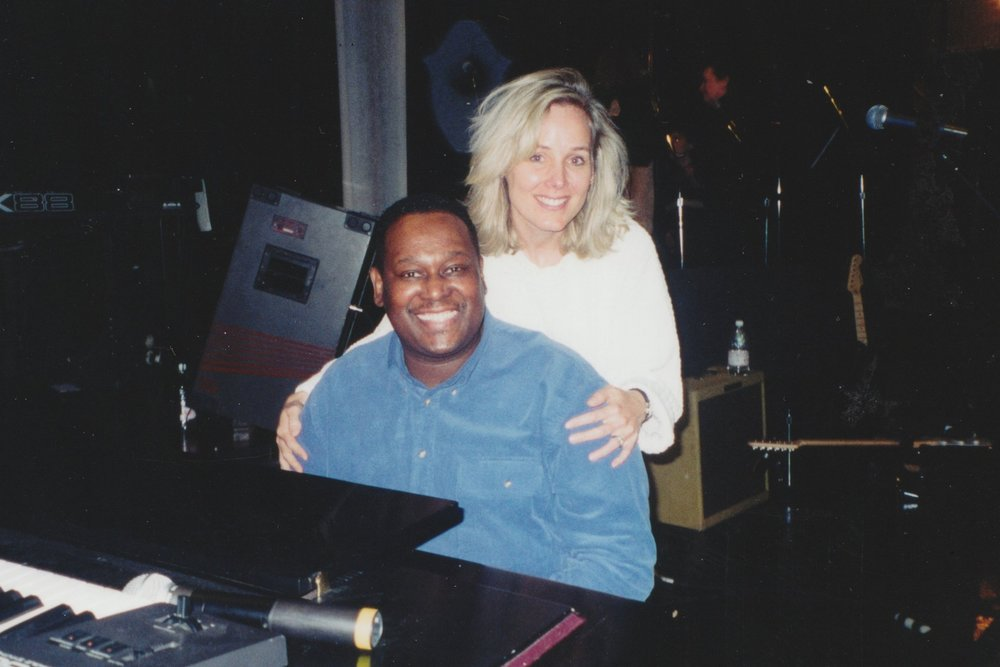 Janey with Luther Vandross