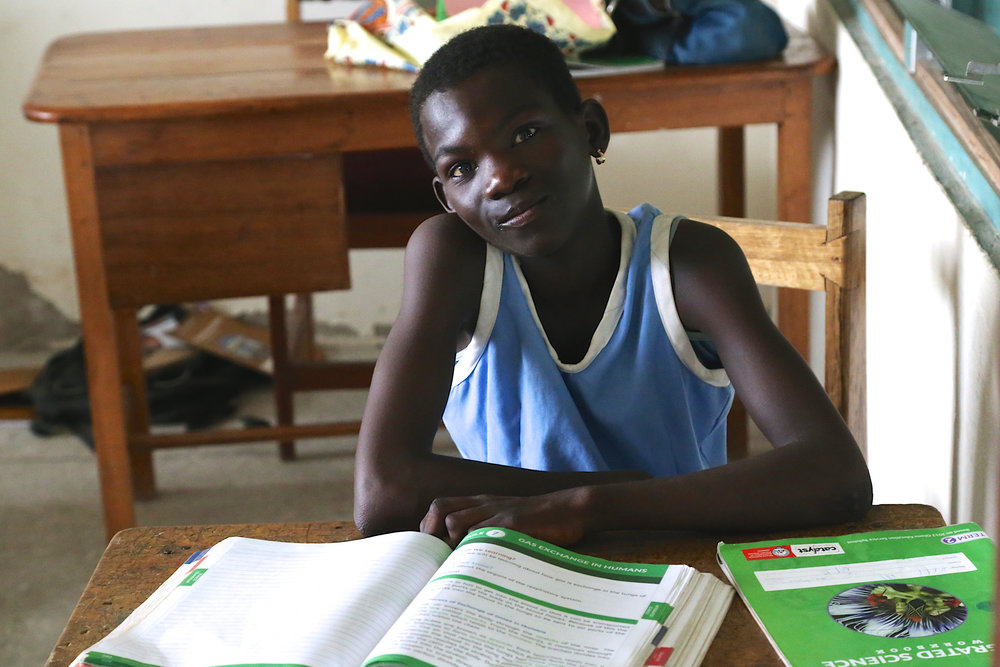 Our students attend school 5 days per week.  Their classes include Mathematics, Social Studies, Science, Information Computer Technology (ICT), Arts, Fante, and English.