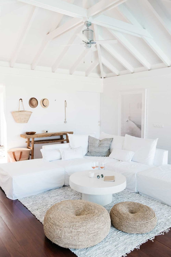 Jules and Louis Blog - Villa Palmier at St. Barth's - living room