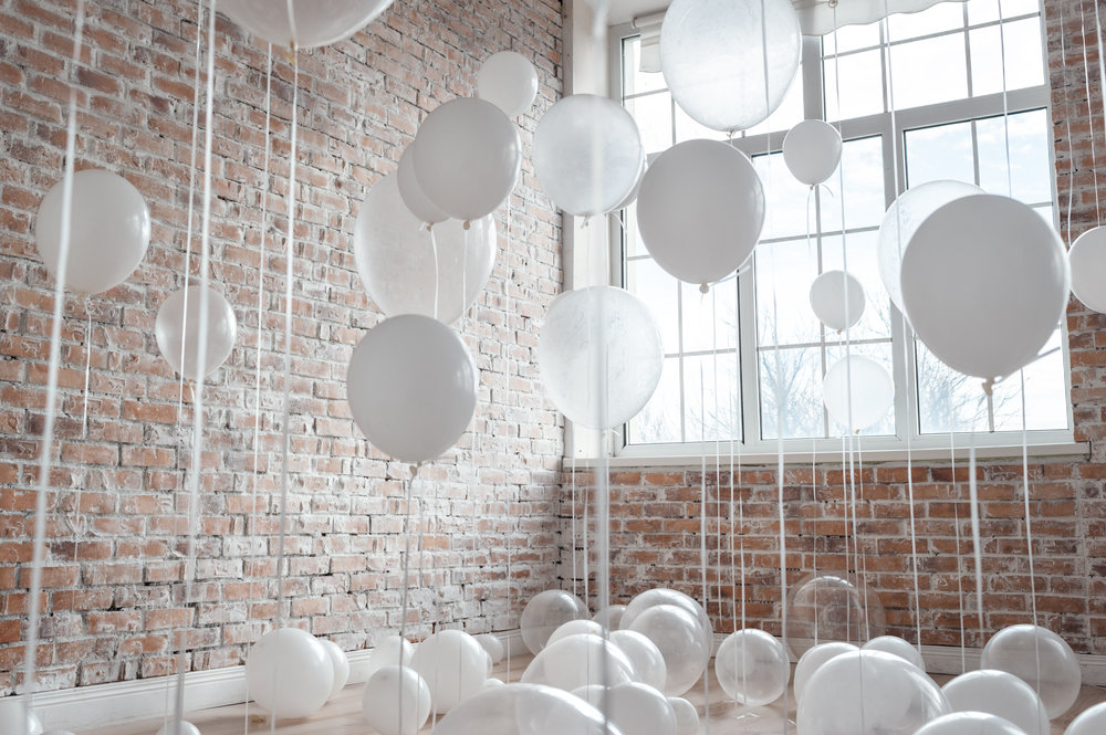 Jules and Louis Blog - Shop the Boutique - white balloons