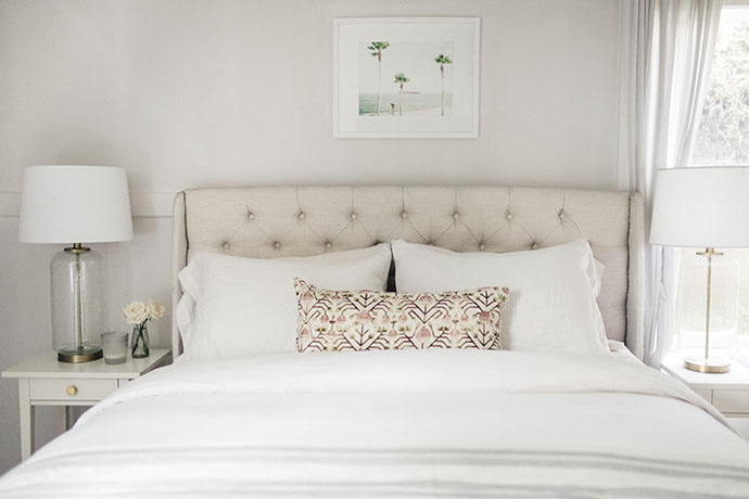 Jules and Louis Blog - A Pretty Dream Home in Sausalito - bedroom